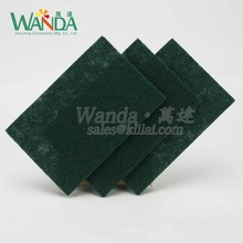Household Cleaning Dish Washing Green Scouring Pad
