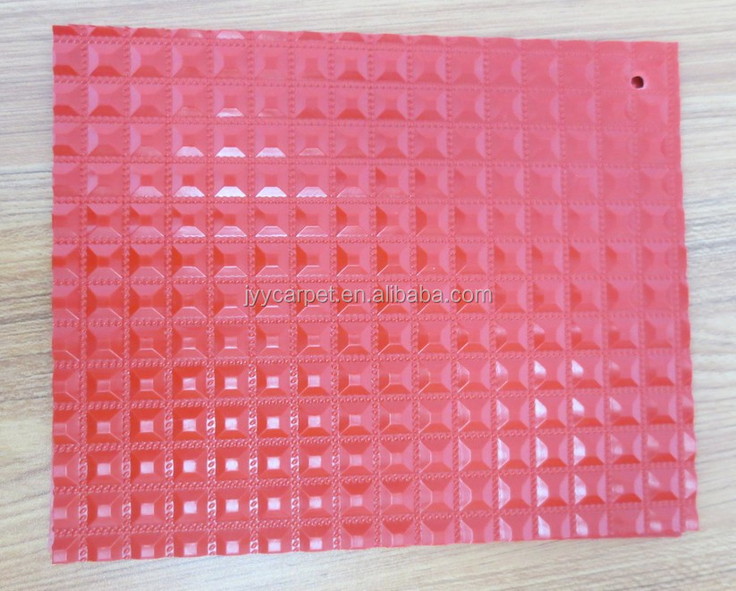 Car Upholstery Plastic PVC Coin Mat