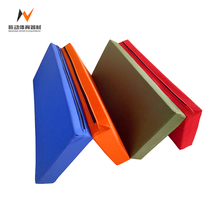 Children's gymnastics puzzle exercise folding mats for home