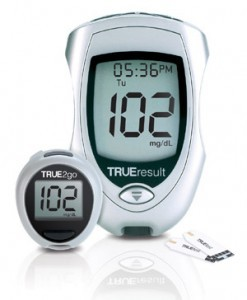 Blood Glucose Meter with Uric Acid, Cholesterol and sugar strips