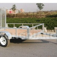 2015 Mesh Floor ATV Trailer Transport