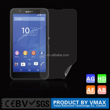 New arrival factory price free sample hot sell anti scratch flash diamond screen protector/film for Sony Xperia E4 OEM ODM