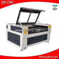 laser engraving machine made in china / wood laser engraver cutter price QD-1390 cnc laser cutting machine for acrylic and wood