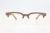 brand new custom half frame rose wood waterproof decorative mens eyeglasses