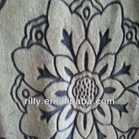 flannel fabric for home textile