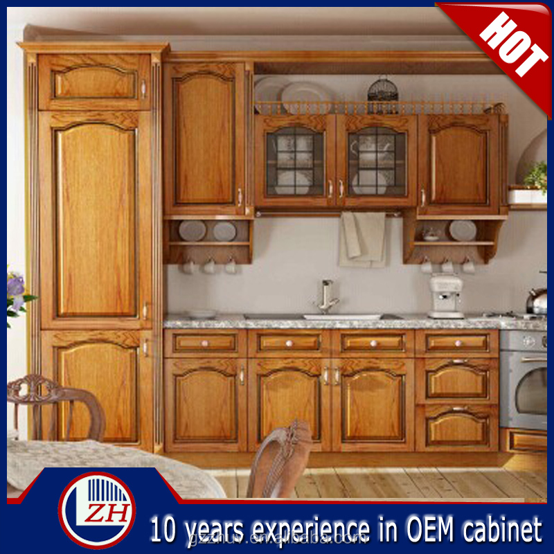 Solid wood kitchen cabinet solid wood kitchen furniture for Where to order kitchen cabinets