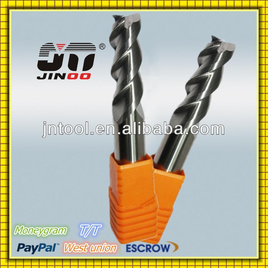 Solid Carbide CNC Cutter Aluminium processing End mills