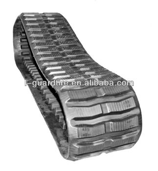 400x72.5x74 rubber track for mini excavator