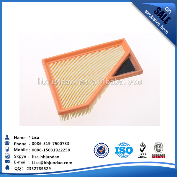 Auto air filter materials 13727529261 FOR BMW