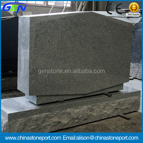 Best Quality Natural Light Gray G633 Polished Tombstone & Monument
