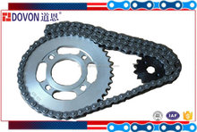 heat treatment motorcycle transmission chain roller chain sprocket