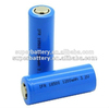 (SR-IFR1200) IFR lifepo4 1200mAh 18500 rechargeable lithium ion 3.2V Lifepo4 battery Cell