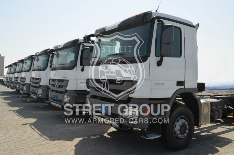 Armored Car BR6 / PM7 Level Mercedes Actros