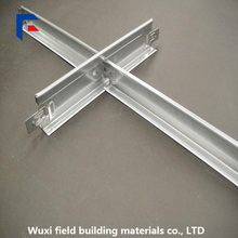 Painting aluminum T bar suspended ceiling grid