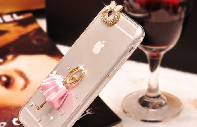 Ballet Girl DIY Mobile Phone Cover