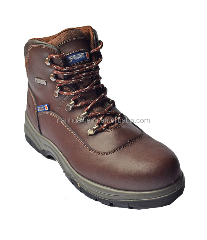 Genuine Leather Upper Material Unisex Gender U-Power safety shoes