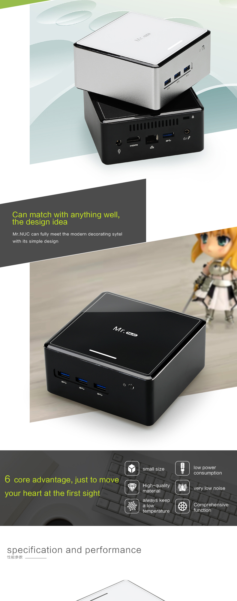 wholesale china import windows mini pc J1900 quad core 2.4GHz HDMI beauty case hot desktop PC