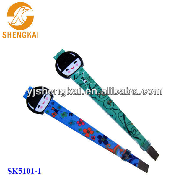 stainless steel 2013 best design stainless steel eyebrow tweezers