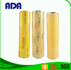 Household Jumbo roll plastic Soft Hardness and PVC Material PVC cling film