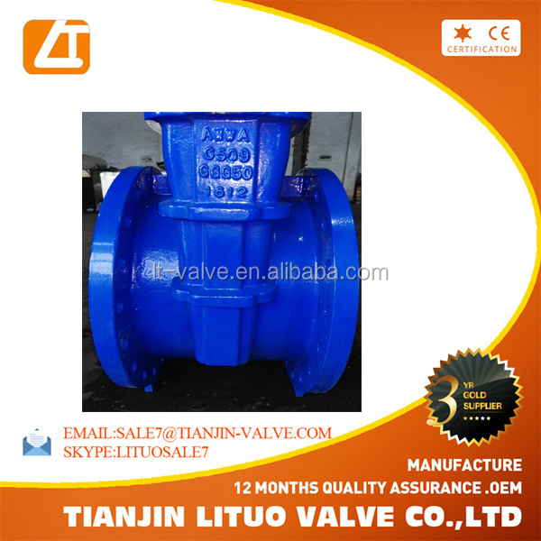 Alibaba <strong>trade</strong> measure ductile iron water gate valve price