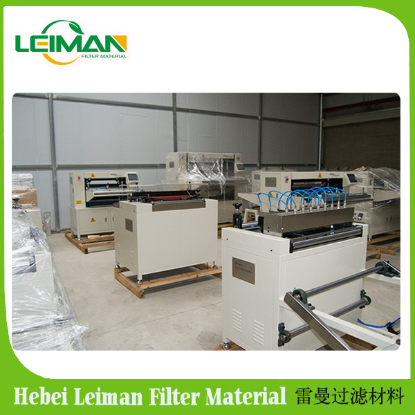LMCZ55-600-II Full-auto oil filter paper knife pleating machine production line with low failure rate