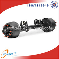China Wondee 2014 15T Asian Axle for Boat Trailer Parts