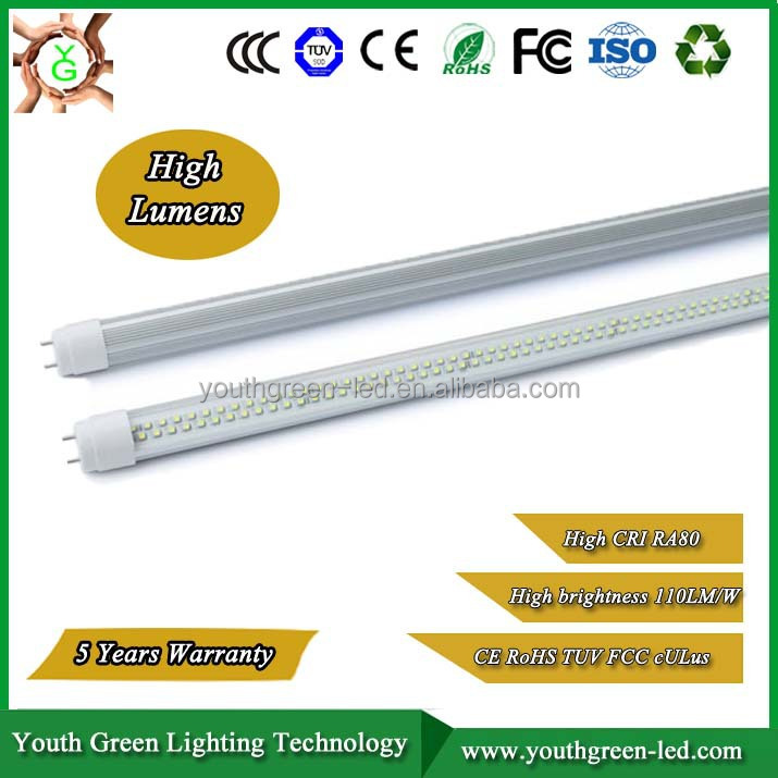 5 years warranty UL CE TUV SAA led tube light t8 led read tube sex 2014 hot new products 2016 3 years warranty