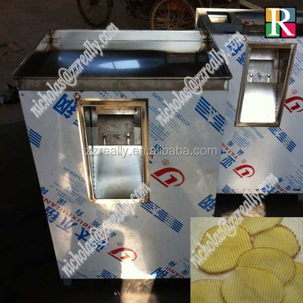 Electric commercial semi automatic potato chips making machine price