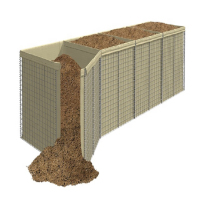 27 years factory military sand wall hesco barrier mil 3 for sale
