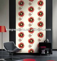 fashion design vinyl pvc wallpaper for home deco