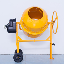 120L Electric portable plastic drum concrete mixer Promotion mini concrete mixer with best price