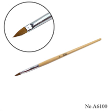 A6100 wood Nail Art Design Painting Tool Pen Polish Brush For Manicure
