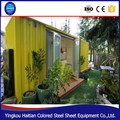 sale the new light steel container house living mobile restaurant