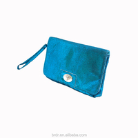 Hot Sale Cheap Price Stylish Teal Color Evening Handbag for Young Women