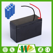 Best price lifepo4 12v 20ah battery pack, 12V lifepo4 car battery with BMS