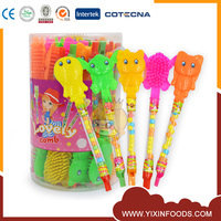 Cheap Animal Shape Plastic Comb Candy