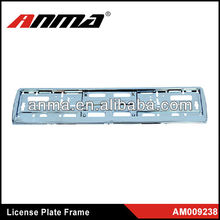 ABS/PP European car number plate frame/license plate frame