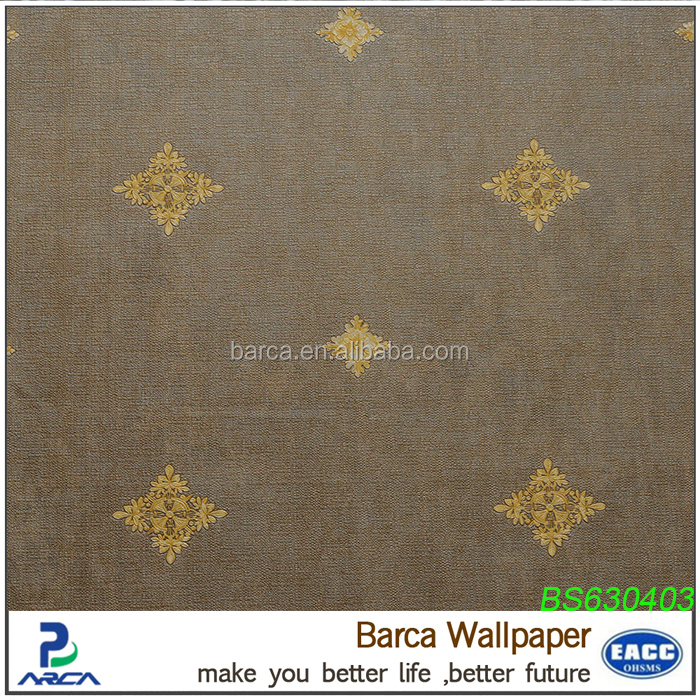small pattern damask 3d wall covering/waterproof wallpaper for sale