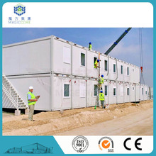 Good quality material living container fast built luxury container house from China