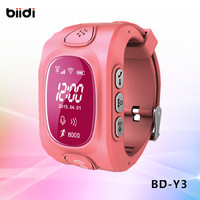 2016 HOT SELL Emergency GPS Tracker Security Children Kids Smart Watch With SIM Card Slot SOS Phone Call For Children Old People