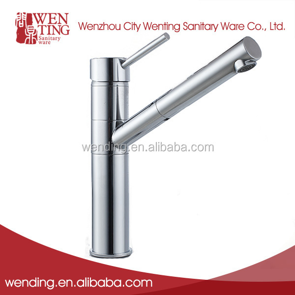 Fast delivery chrome plated long neck bathroom faucet designs