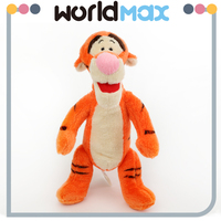 Tiger Animal Shape Plush Toy For Kids