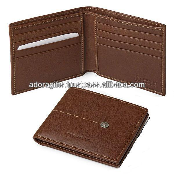 Handmade Band 2017 good quanlity multi-function men's leather wallet