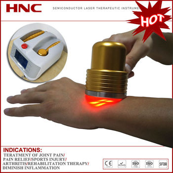 Chronic pain relief handheld and portable infrared laser therapy device