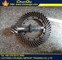 YTO X904/X804/X704 tractor rear axle part,YTO tractor rear axle bevel gear pair 9/43,5142023/16