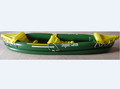 inflatable rowing boat with paddle for 2 seaters