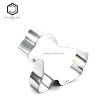 2017 hot sales of environmentally friendly baking tools, cute stainless steel animal Cookie Cutter