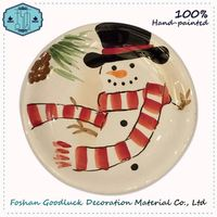 New Wholesale Christmas Decorative 4 Inch Ceramic Mugs Plates And Cups