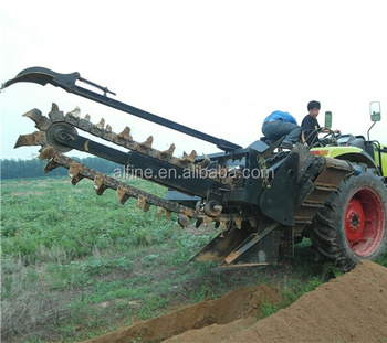 Factory directly sale good performance trencher machine