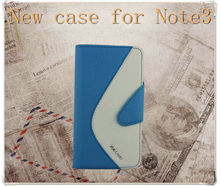 Leather Filp Cover For New Samsung Galaxy Note 3 N9000 case